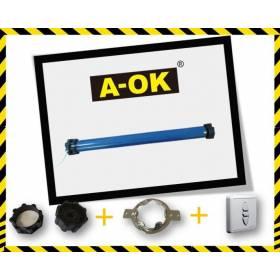 Moteur Radio A-OK + Télécommande + Support + Adaptation